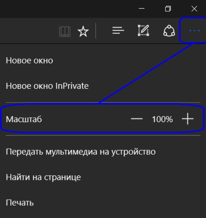 Увеличение шрифта в браузере Internet Explorer